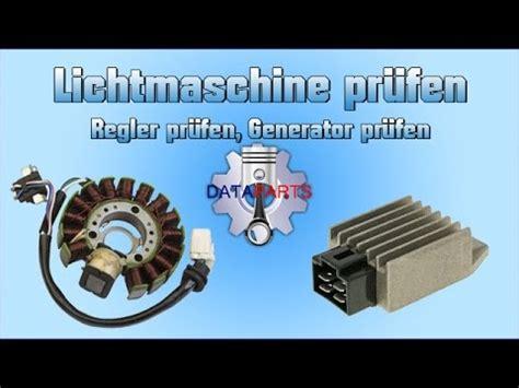 lichtmaschine pruefen regler pruefen generator pruefen