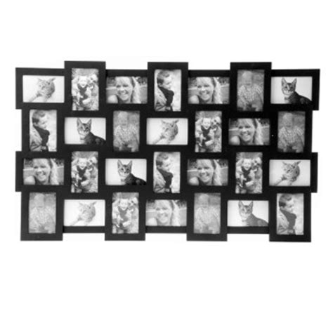 cadre photo g ant 2359 cadre photos original cadre photo 12 vues noir pm164nc65