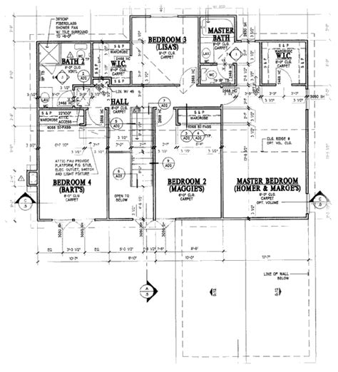 floor plan of the simpsons house casa de los simpsons real planos taringa