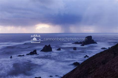 Point Of Rocks West Beach Cam Sea Club V | sea lion rocks in rain storm cannon beach photo