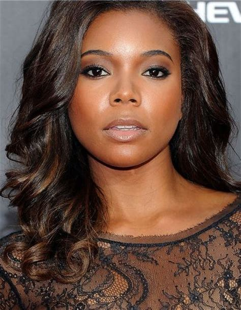 how many inches is gabrielle union weave gabrielle union love her makeup and her hair hair