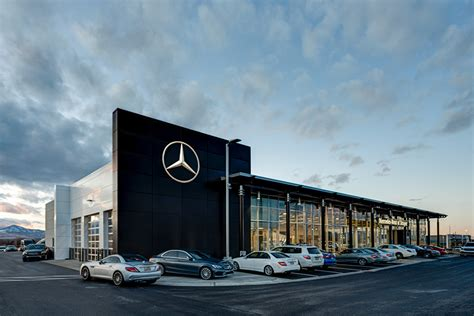 Mercedes Dealership Parts by Mercedes Dealership Layton Construction Company