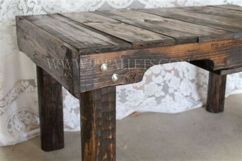 Pallet Wood Coffee Table Handmade Wood Pallet Coffee Table 99 Pallets