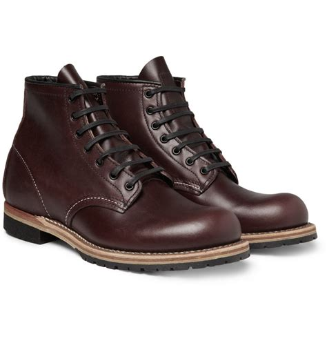 redwing boots for wing beckman leather boots in for lyst