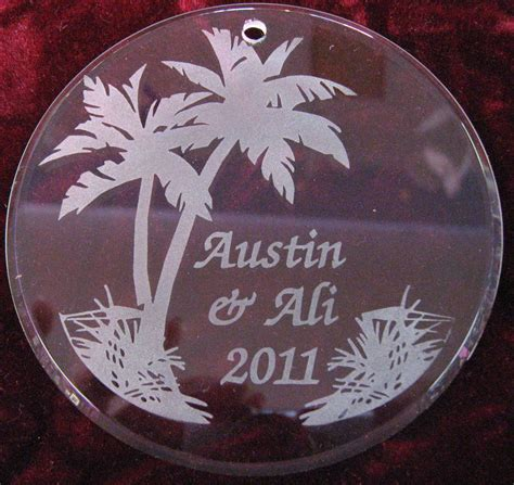 custom engraved pet christmas tree ornaments