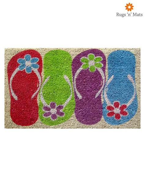 flip flop rug rugs n mats flip flop doormat mats carpets lowest prices available on rugs n mats flip