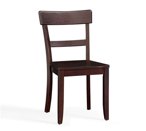 Pottery Barn Dining Chairs Metropolitan Side Chair Pottery Barn