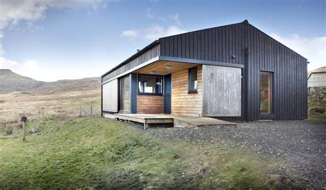 Small House Kits Scotland The Black Shed Rural Design Architects Small House Bliss
