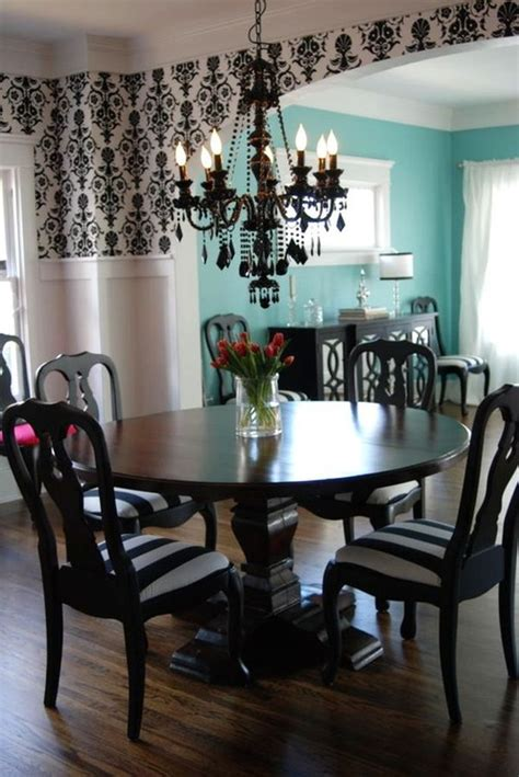 Black Chandelier Dining Room Interior Designs Fancy Dining Room Classic Chandelier