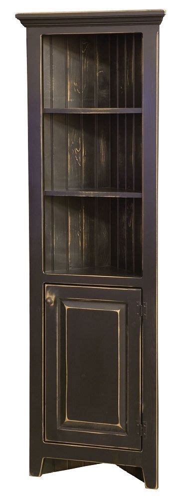 Corner Kitchen Hutch Furniture by Amish Kitchen Corner Cabinets Jelly Pantry Bathroom