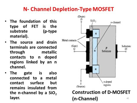 transistor gate drain source field effect transistor fet ppt