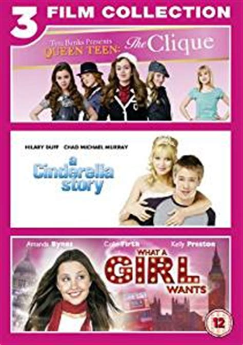 film come cinderella story cinderella story the clique what a girl wants triple pack