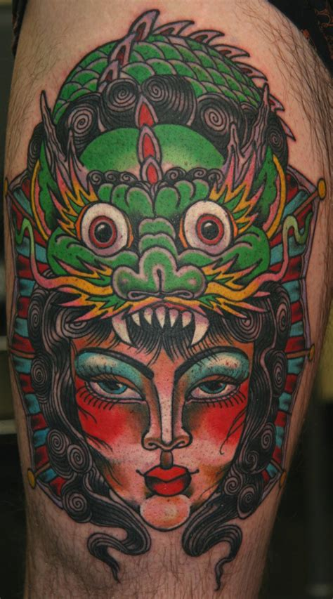 tattoo dragon neo traditional knee tattoos and designs page 52