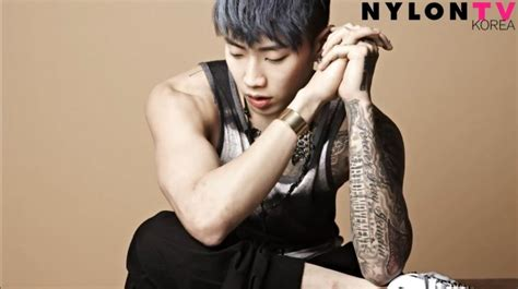 jay park left arm tattoo jay park nylon photoshoot new tattoo by far his best