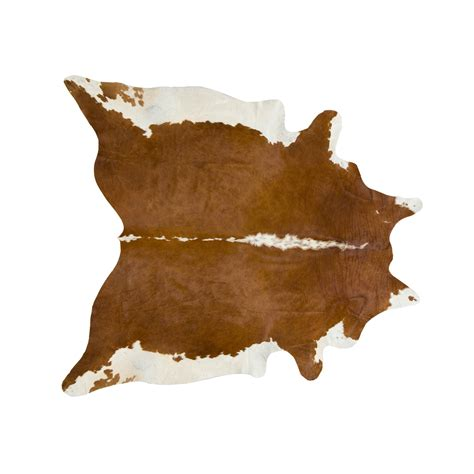 Large Cow Rug Southwest Rugs Large Brown And White Regular Cowhide Rug