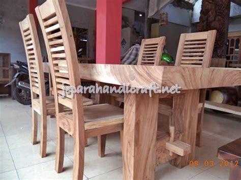 Kursi Makan Minimalis Jari Sofameja Makanbufetducolemarinakas jual meja makan minimalis antik solid wood 6 kursi jari murah