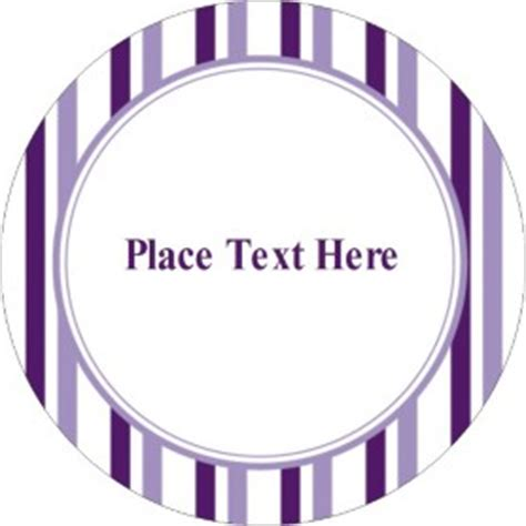 printable round stickers avery templates classic purple stripes print to the edge round