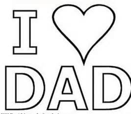 free coloring pages hearts love dad gianfreda net