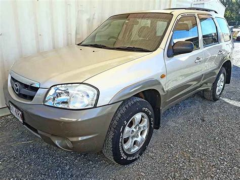 mazda automatic cars automatic 4x4 suv mazda tribute 2003 gold used vehicle sales
