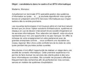 Exemple De Lettre De Motivation Bts Notariat Modele Lettre De Motivation Bts Notariat Document