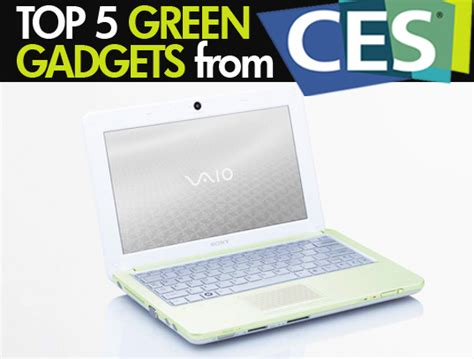 top 5 green gadgets for guys inhabitat green design sony unveils ultra green vaio w series laptop at ces