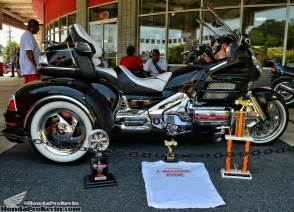 Car Tire On A Goldwing Motorcycle Custom Honda Gold Wing Trike Award Show Winning Gl1800