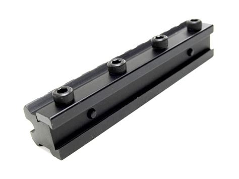 Scope Mount Recoil Compensator utg scope elevation compensator dovetail to picatinny mount for rws air rifle ebay