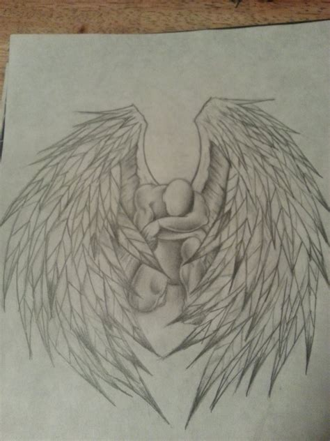 angel drawing by 12highonlife14 on deviantart