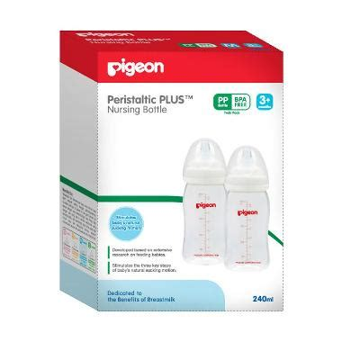 Pigeon Pack Bottle Wide Neck Pp 160 Ml jual botol philips avent pigeon dll terbaru