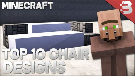 minecraft couch design top 10 minecraft modern chair couch designs in