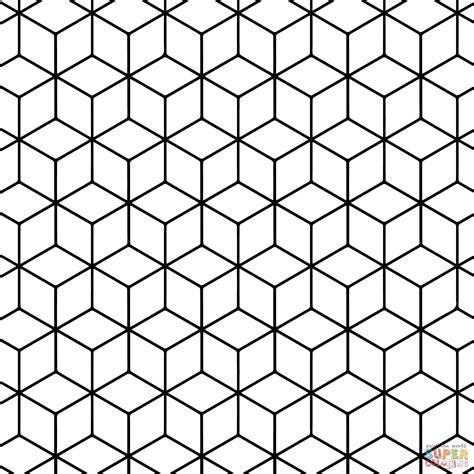 printable tessellations hexagon pictures to pin on geometric tessellation with rhombus pattern super