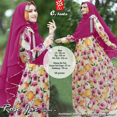 Best Seller Gamis Syari Annisa Fanta Syari miftah shop distributor supplier tangan pertama baju