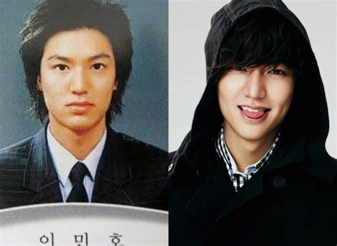 facts of korean actor lee min ho plastic surgery the korean plastic surgery a stopover on the road to fame