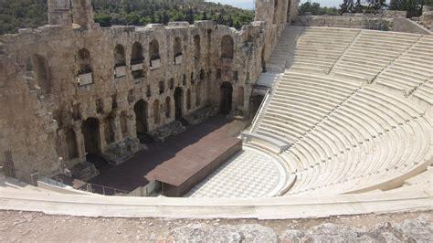 greek theatre ancient greece eurotrip recap athens greece threetimesf