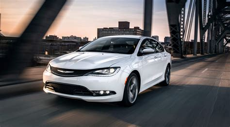 A Chrysler 200 2017 Chrysler 200 Four Door Mid Size Sedan