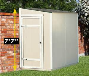 8 215 4 lean to shed for compact storage yardline