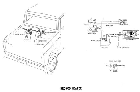1971 bronco wiring diagrams ford best free home