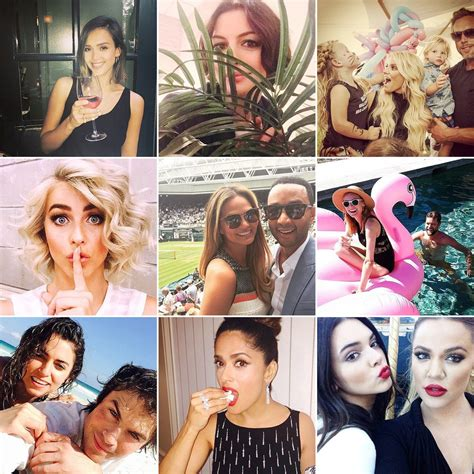 top pictures page 1 celebrity pictures pictures of celebrities using instagram popsugar celebrity