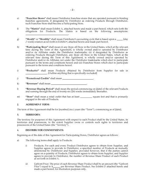 revenue contract template revenue contract template pchscottcounty
