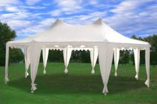 Party Gazebo by Outdoor Gifts 187 29 X21 Octagonal Wedding Party Tent