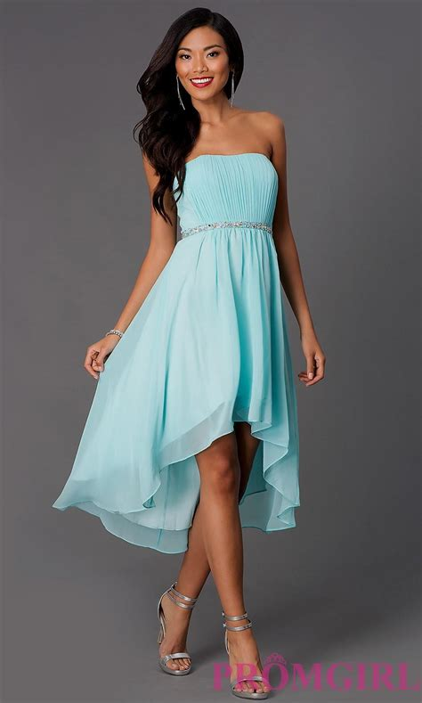 light blue high low dress light teal high low bridesmaid dresses naf dresses