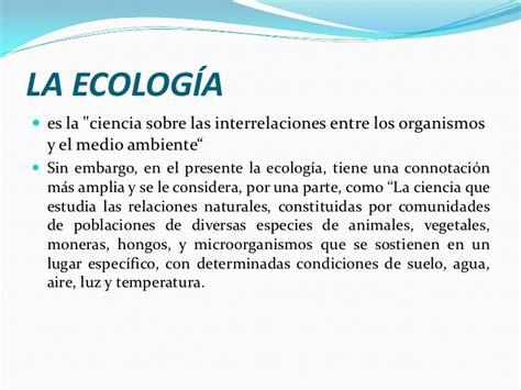 ecolog a y medio ambiente en el blog verde blog sobre principales conceptos de ecologia