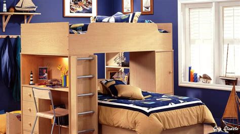 Compact Bedroom Design Saves Space Small Bedroom Space Saving Ideas