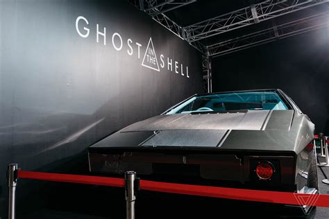 film ghost car the live action ghost in the shell gets the look right