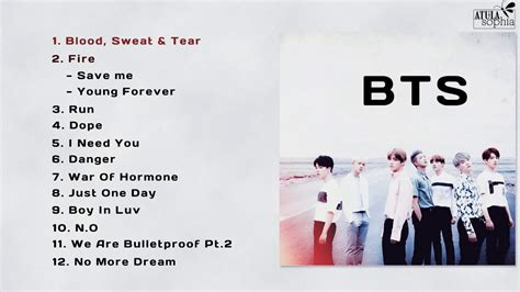 bts songs bts 방탄소년단 title songs best song of bts pt 5 youtube