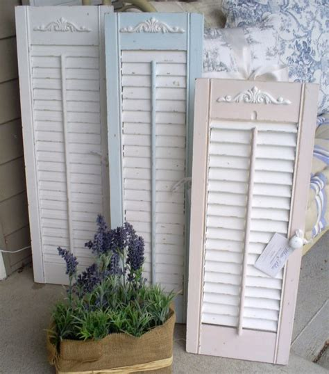 shabby chic shutters 34 best images about shutters on shutter