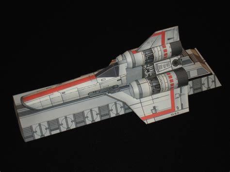 Battlestar Galactica Papercraft - battlestar galactica colonial viper mk 1 starfighter