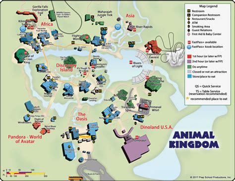 printable animal kingdom complete guide to disney s animal kingdom