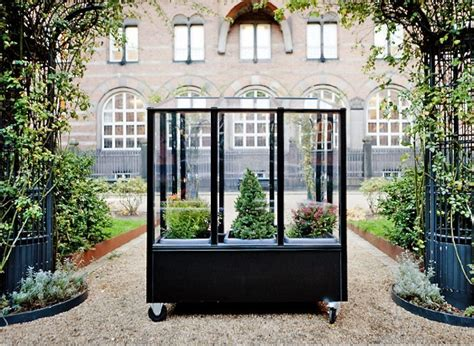 urban green house small space gardening a tiny greenhouse on wheels