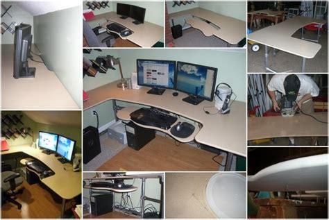 Diy Ergonomic Desk How To Build A Custom Ergonomic Computer Desk Simplified Building